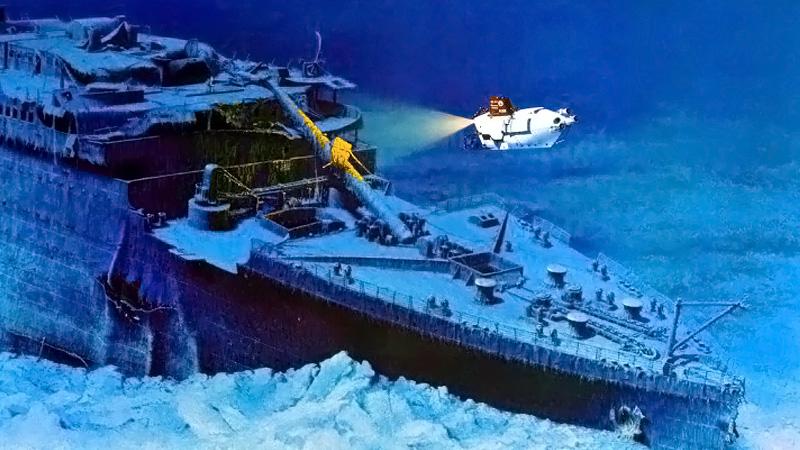 Titanic Wreck Marschall